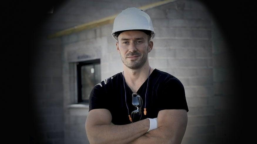 Nick, porte-parole des charpentiers-couvreurs