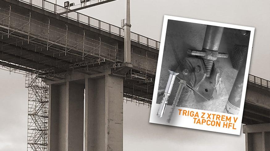 Chantier en France : rénovation du pont Saint Nazaire