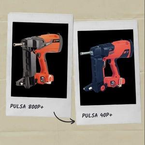 comparaison Pulsa 800P+ et Pulsa 40P+