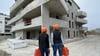 5000 m² de plaques de plâtre à fixer avec les outils SPIT