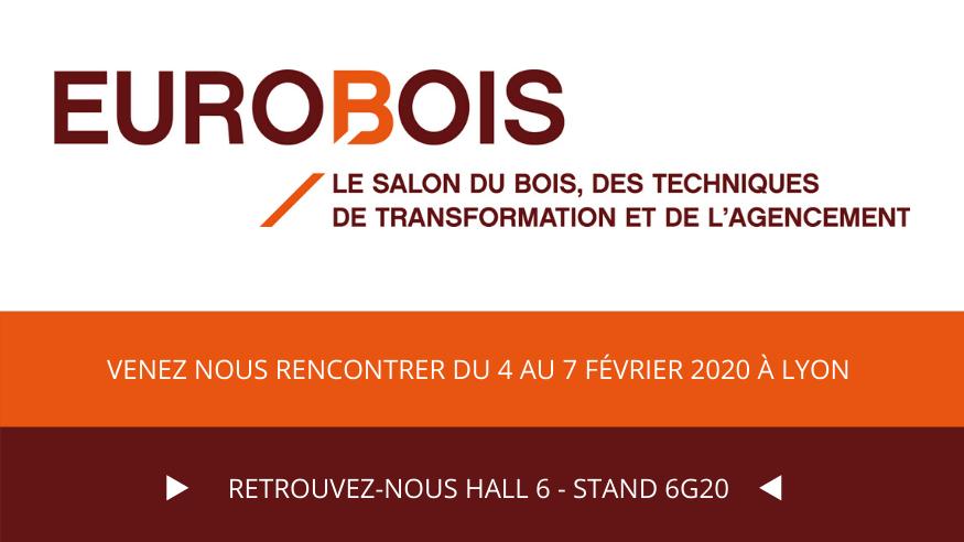 Nouvelle participation de SPIT PASLODE au Salon Eurobois 2020