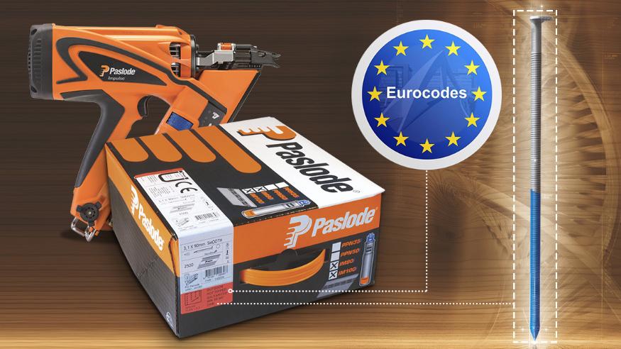 Les clous PASLODE et l'Eurocode 5